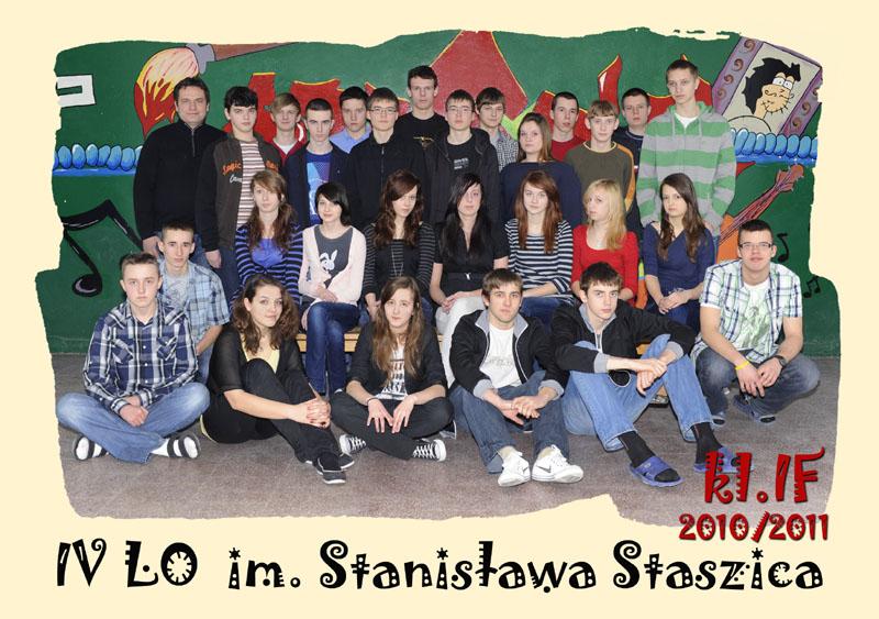 Klasa 1f w roku szkolnym 2010/2011