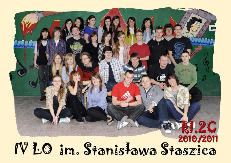 Klasa 2c w roku szkolnym 2010/2011