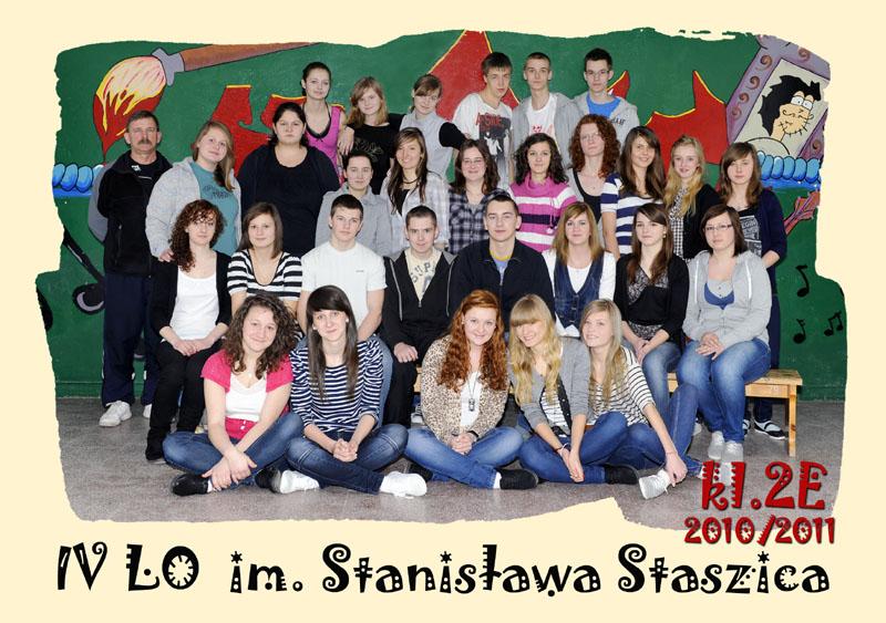 Klasa 2e w roku szkolnym 2010/2011
