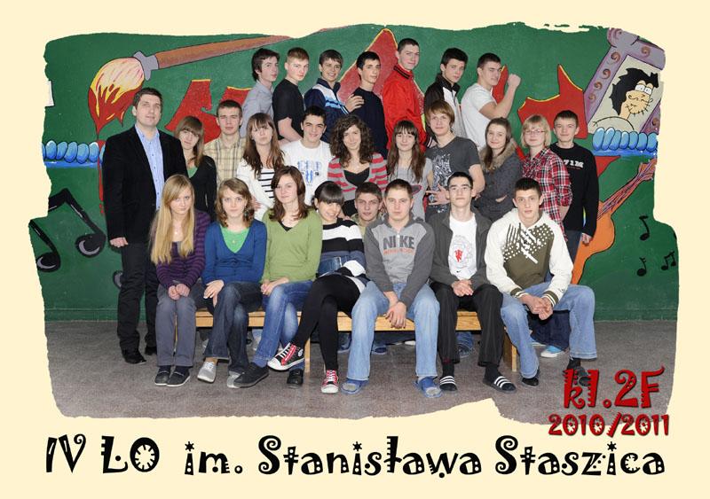 Klasa 2f w roku szkolnym 2010/2011