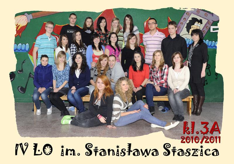 Klasa 3a w roku szkolnym 2010/2011