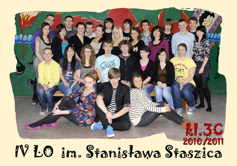 Klasa 3c w roku szkolnym 2010/2011